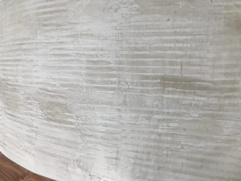 combed plaster rustic